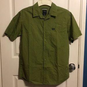 Menʻs Short Sleeve Button Shirt